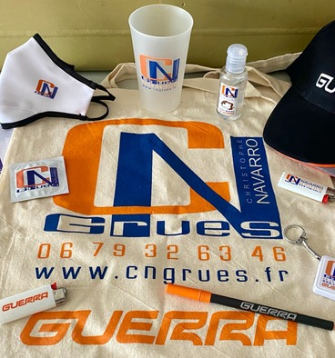 CN GRUES est présent sur tous les salons professionnels marins